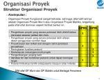 organisasi proyek struktur organisasi proyek2