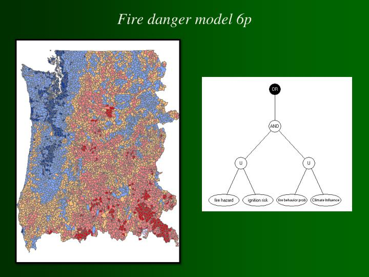 Fire danger model 6p