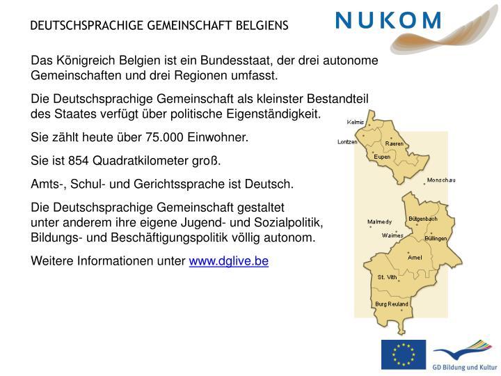 Deutschsprachige gemeinschaft belgiens1