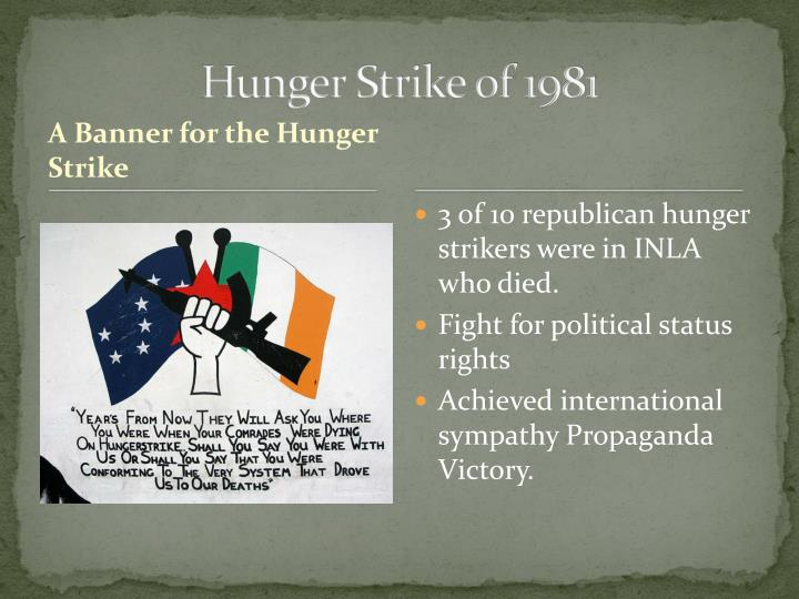 Hunger Strike of 1981