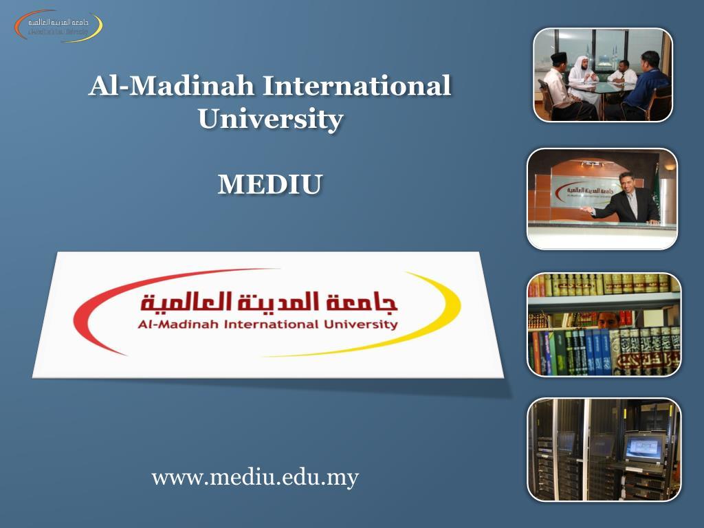 Ppt Al Madinah International University Mediu Powerpoint Presentation Id 3461556