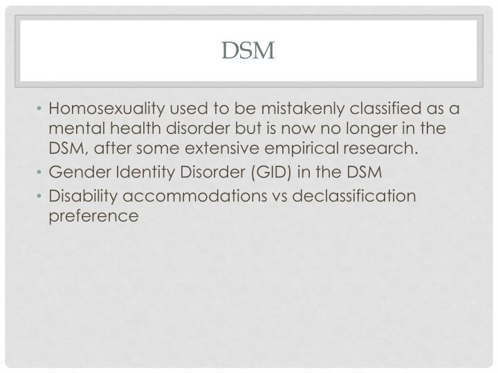 gender identity disorder research paper Gender dysphoria, transsexual attractions, sexual reassignment surgery and informed consent  gender dysphoria, previously identified as gender identity disorder in the psychiatric diagnostic manual, ranssexual issues and sexual reassignment surgery are receiving a great deal of attention and support in the media, schools, government and in health professionals today.