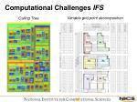computational challenges ifs