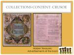 collections content crusoe
