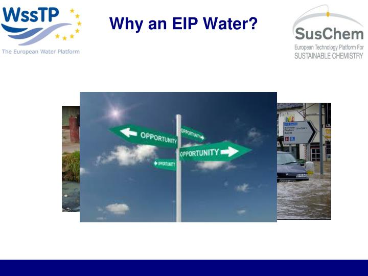 Why an eip water