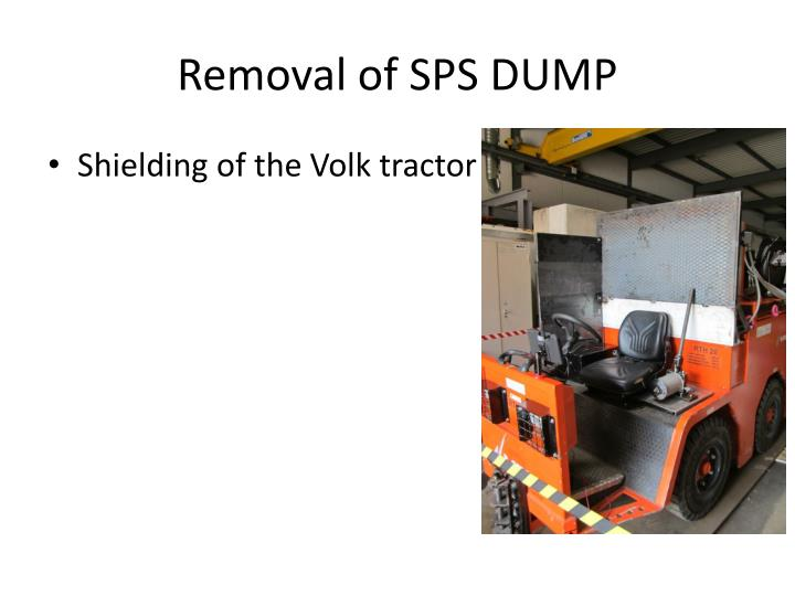 Removal of SPS DUMP