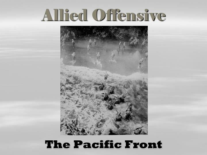 allied offensive n.