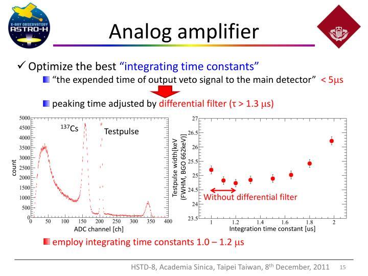 Analog amplifier