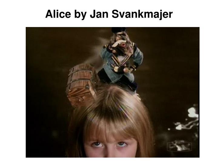 Alice by Jan Svankmajer