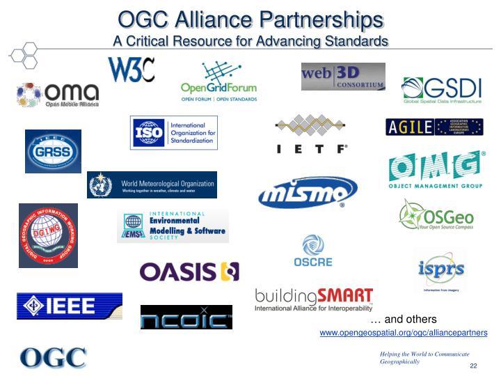 OGC Alliance Partnerships