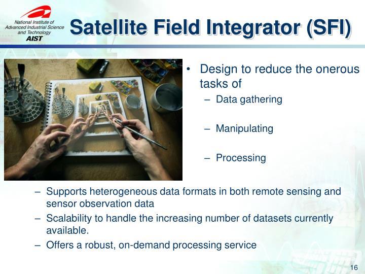 Satellite Field Integrator (SFI)