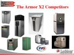 the armor x2 competitors