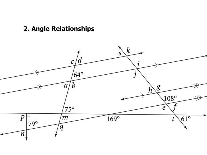 2.Angle Relationships