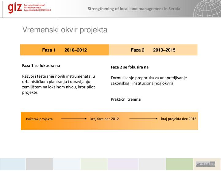 Strengthening of local land management in Serbia