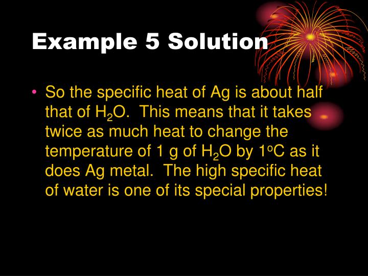 Example 5 Solution