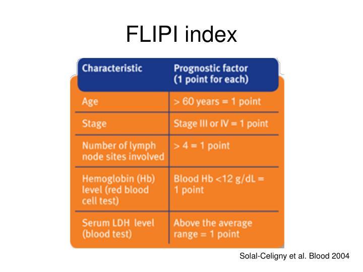 FLIPI index