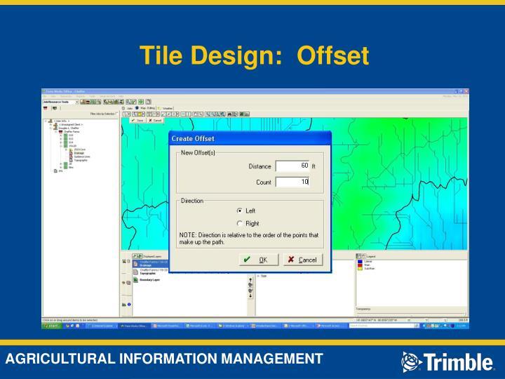 Tile Design:  Offset