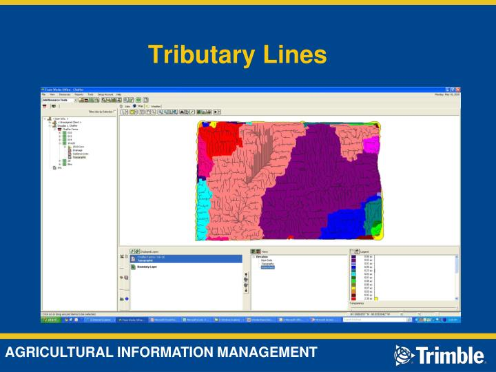 Tributary Lines