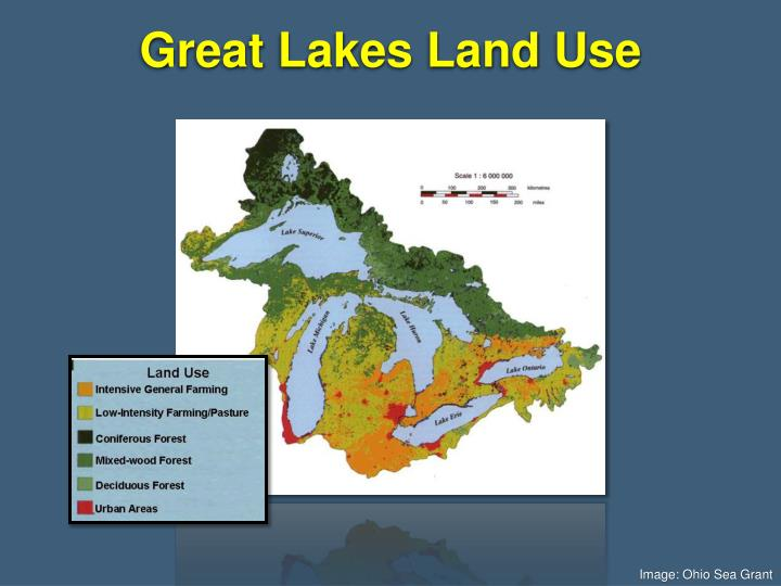 Great Lakes Land Use
