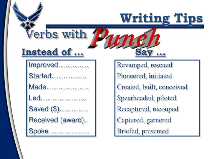 Verbs with