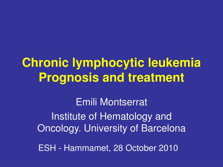 facts on treatment symptoms and prognosis of leukemia