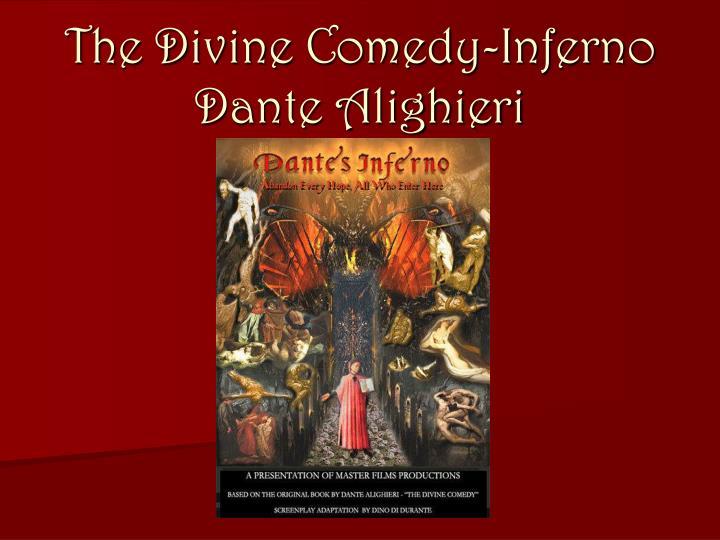 the divine comedy inferno dante alighieri n.