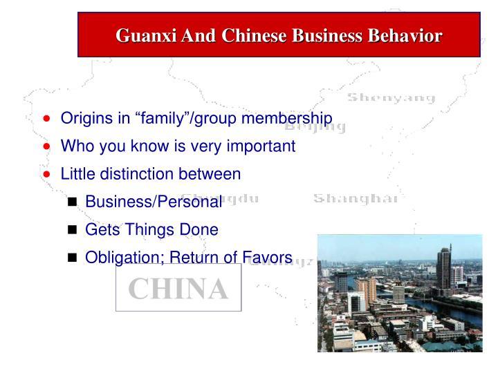 china business behavior