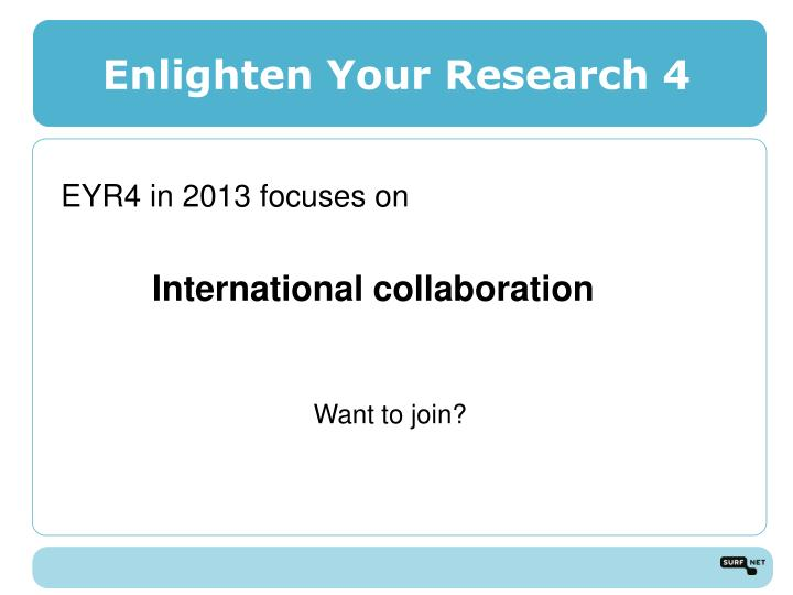 Enlighten Your Research 4