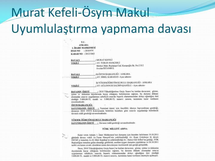 Murat Kefeli-