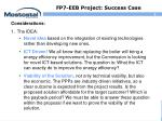 fp7 eeb project success case