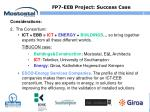 fp7 eeb project success case1