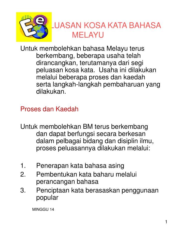 Ppt Peluasan Kosa Kata Bahasa Melayu Powerpoint Presentation Free Download Id 3466676
