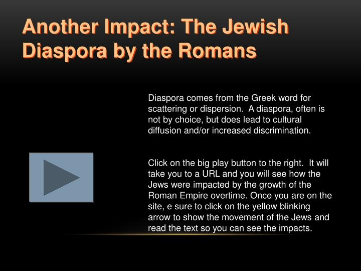 Another Impact: The Jewish