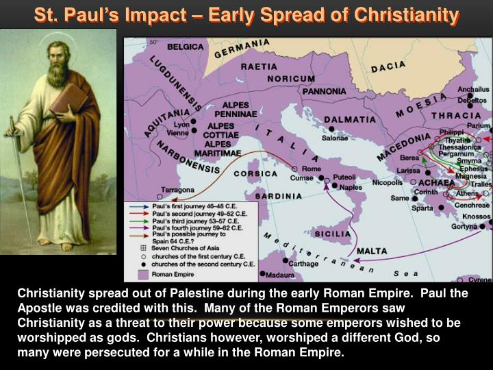 St. Paul's Impact – Early Spread of Christianity