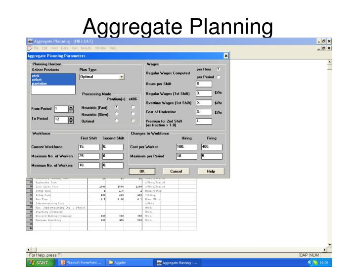 aggregate planning fedex This supply chain tutorial will help you understand supply chain management and its elements the video will cover drivers, network designing, demand forecasting, aggregate planning, and coordination uncertainties in scm and inventory management.