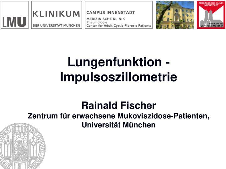 PPT - Lungenfunktion und CF PowerPoint Presentation - ID:3467348