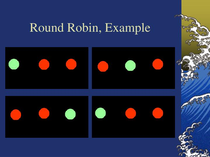 Round Robin, Example