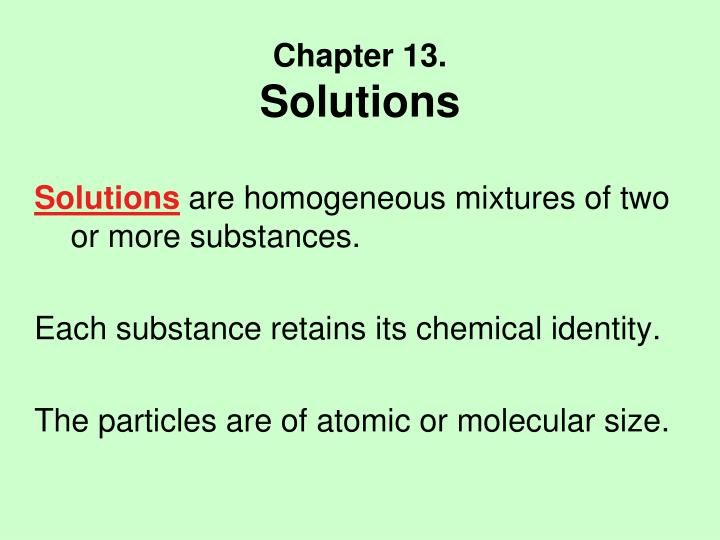 chapter 13 solutions n.