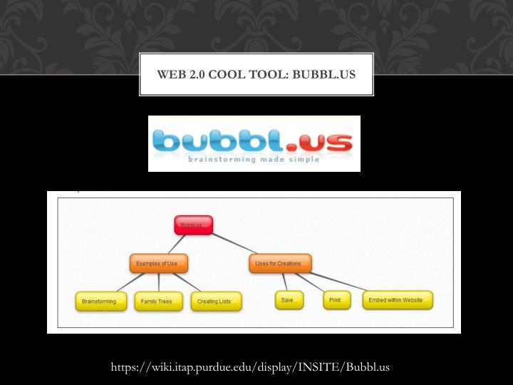Web 2.0 cool tool: