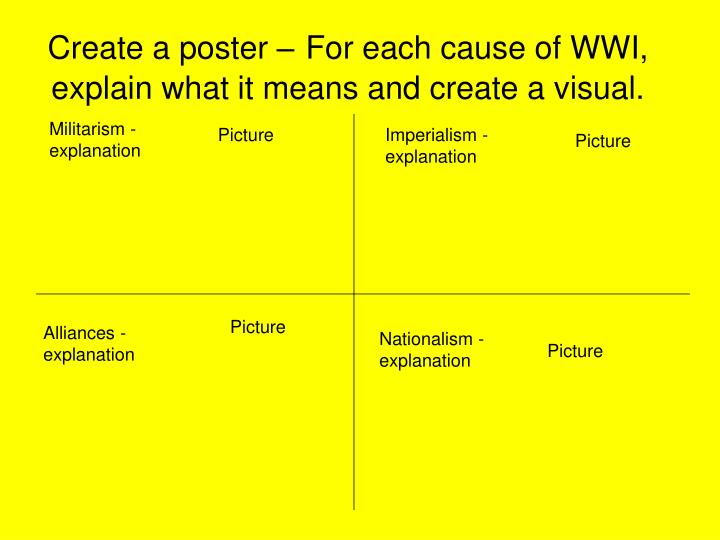 Create a poster –