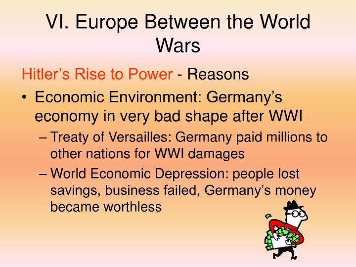 VI. Europe Between the World Wars