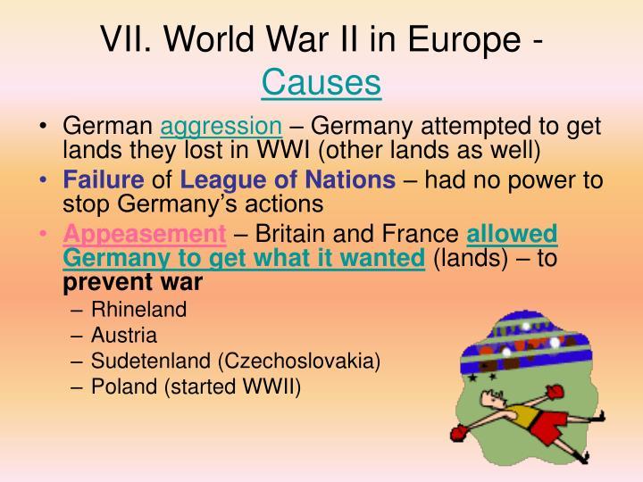VII. World War II in Europe -