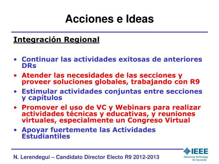 Acciones e Ideas