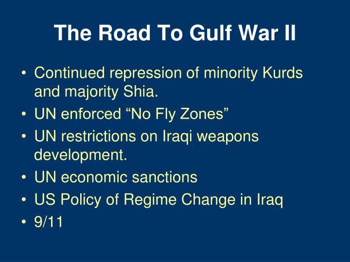 The Road To Gulf War II