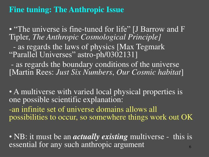Fine tuning: The Anthropic Issue