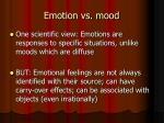 emotion vs mood