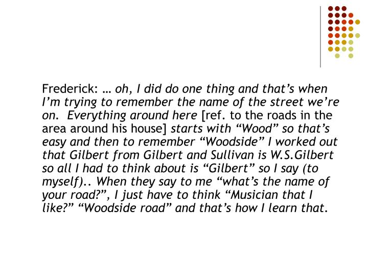 Frederick: