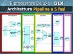 il processore deluxe dlx