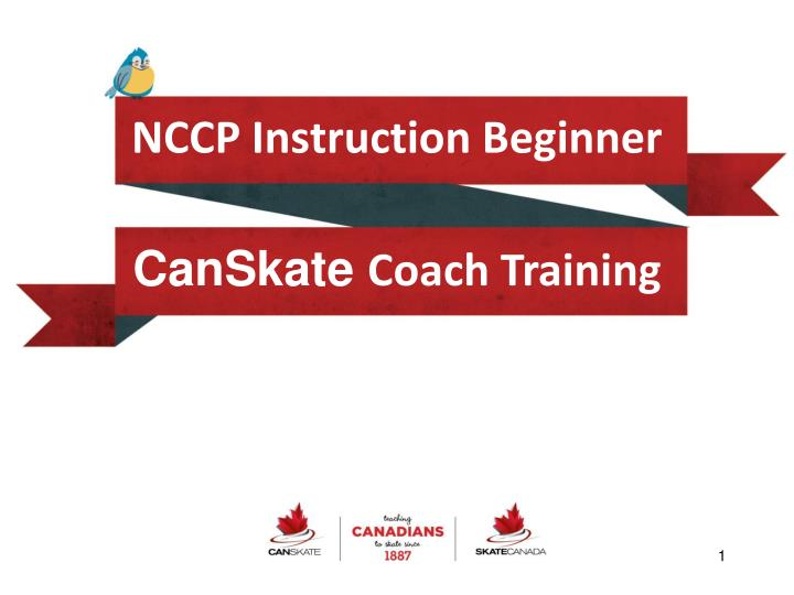 Nccp instruction beginner