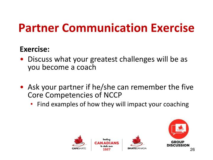 Partner Communication Exercise